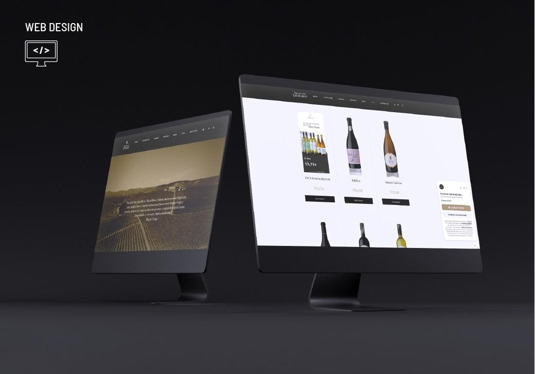 Quinta dos Castelares Web Design