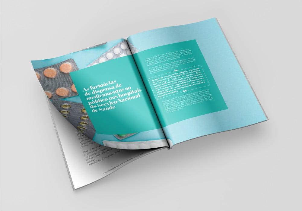 Cavaleiro e Associados Guia de Farmácias Design Brand 22 Creative Agency