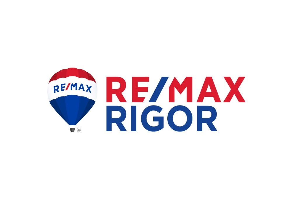 Remax rigor Logo design