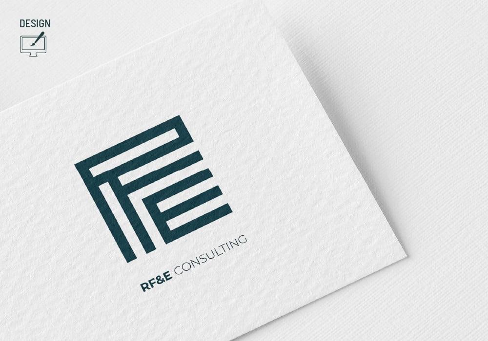 RF&E Consulting Design Logo