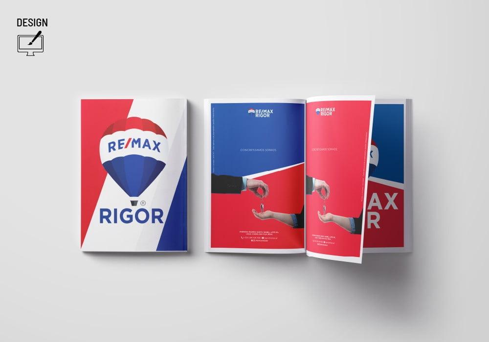 Remax Rigor Revista A4 Design