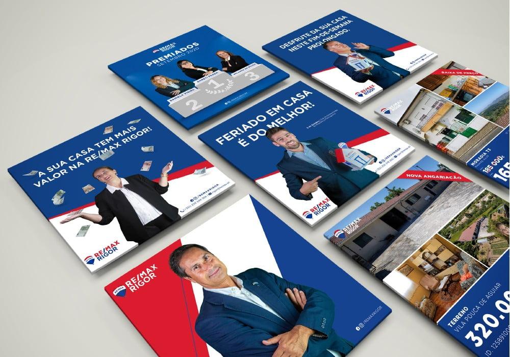 Remax Rigor Conteúdo Redes Sociais Marketing Digital