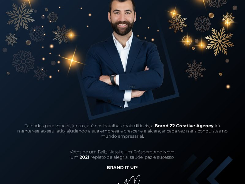 Mensagem de Natal - Brand 22 Creative Agency - Rui Manuel Ferreira