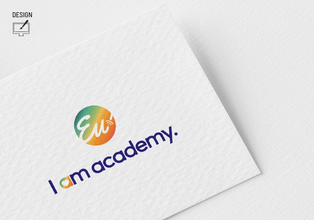 I Am Academy Brand 22 Creative Agency Logo Design