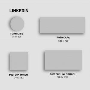 Guia Tamanho de Imagens para Redes Socais 2021 - Linkedin