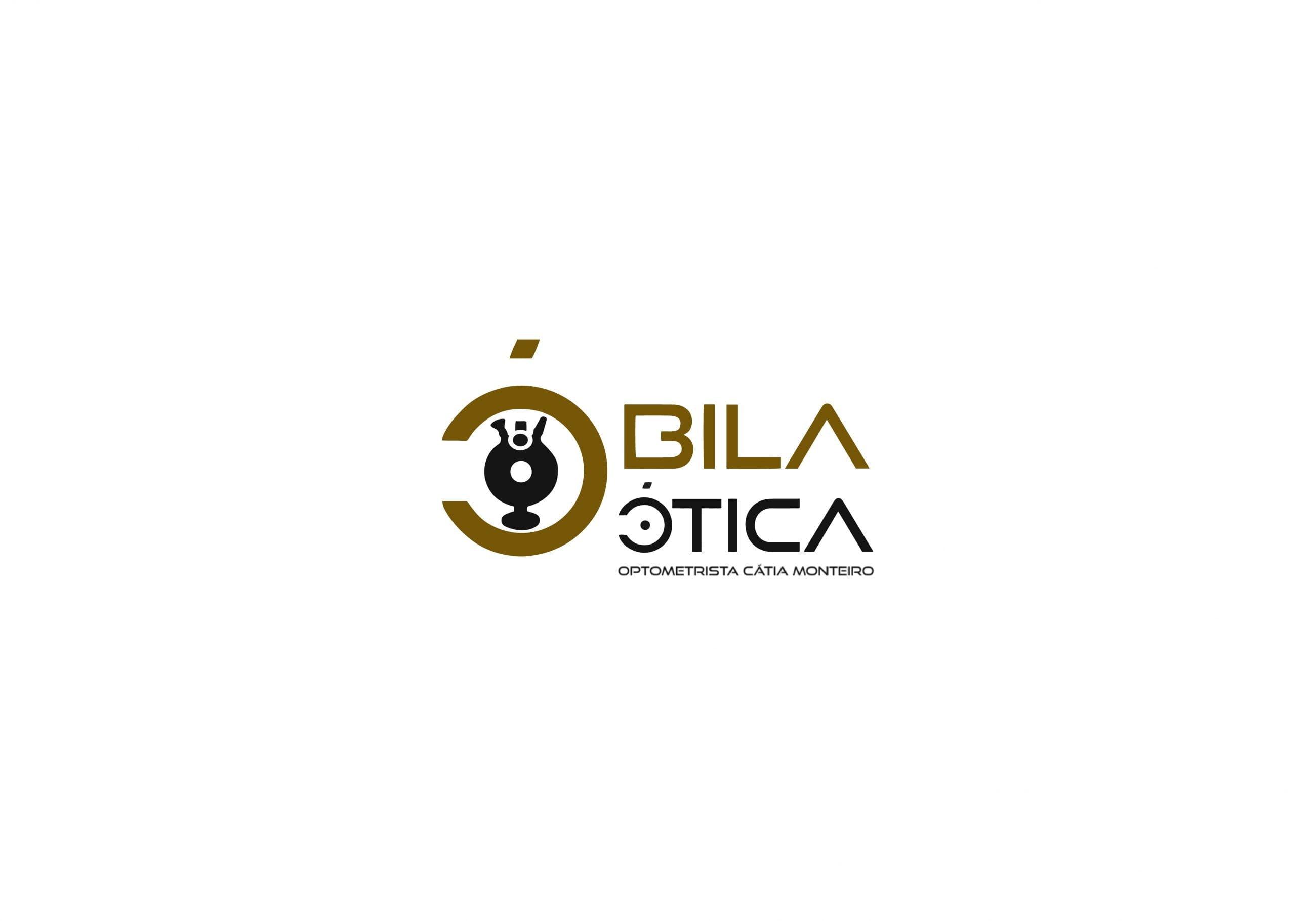 Óbila Ótica Logo Brand 22 Creative Agency