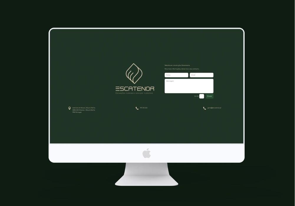 Escatenor Escavações Surribas e Serviços Florestais Design Brand 22 Creative Agency
