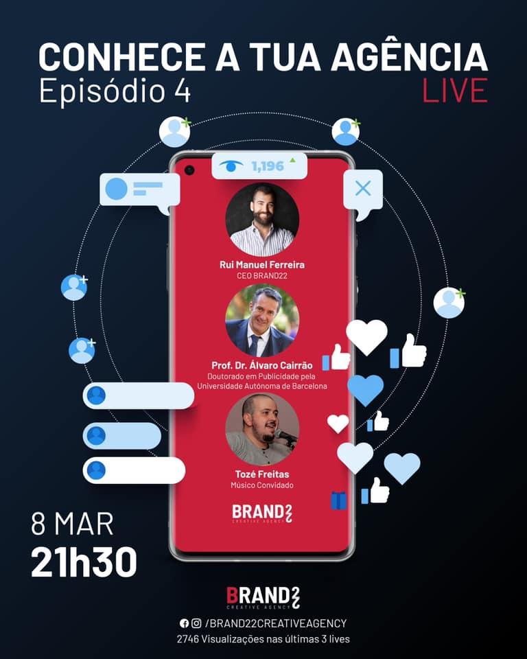 Conhece a tua AGÊNCIA - Live 4