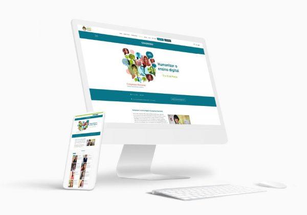 EKUI Congresso Nacional Humanizar o ensino digital - Brand 22 Creative Agency Design