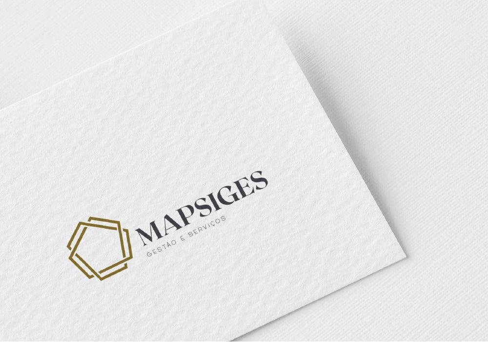 Branding MAPSIGES - Gestão e Serviços