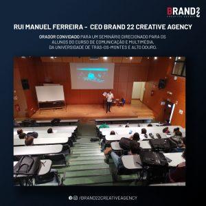 RUI MANUEL FERREIRA ORADOR CONVIDADO PARA UM SEMINÁRIO NA UTAD