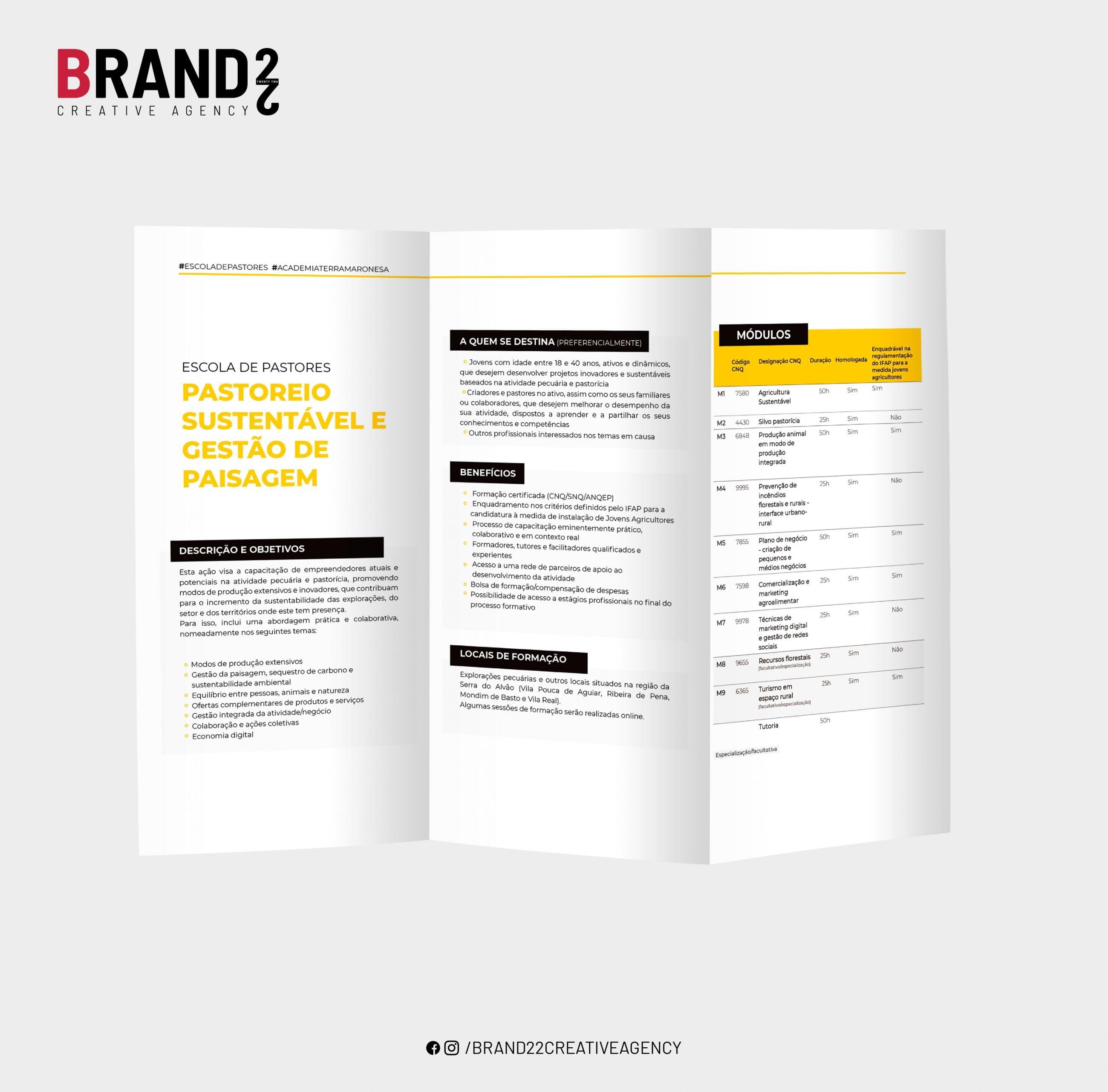 Terra Maronesa Escola de Pastores Design Brand 22 Creative Agency