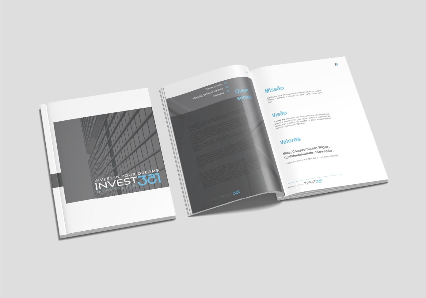 Invest 351 Design e Branding by Brand 22 Creative Agency