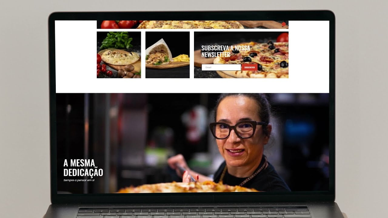 Web Design - Mimos Pizza